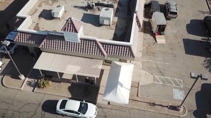 El detenido había comprado el local del ex KFC en abril. (Patrulla de Aduanas y Fronteras de EE.UU.)
