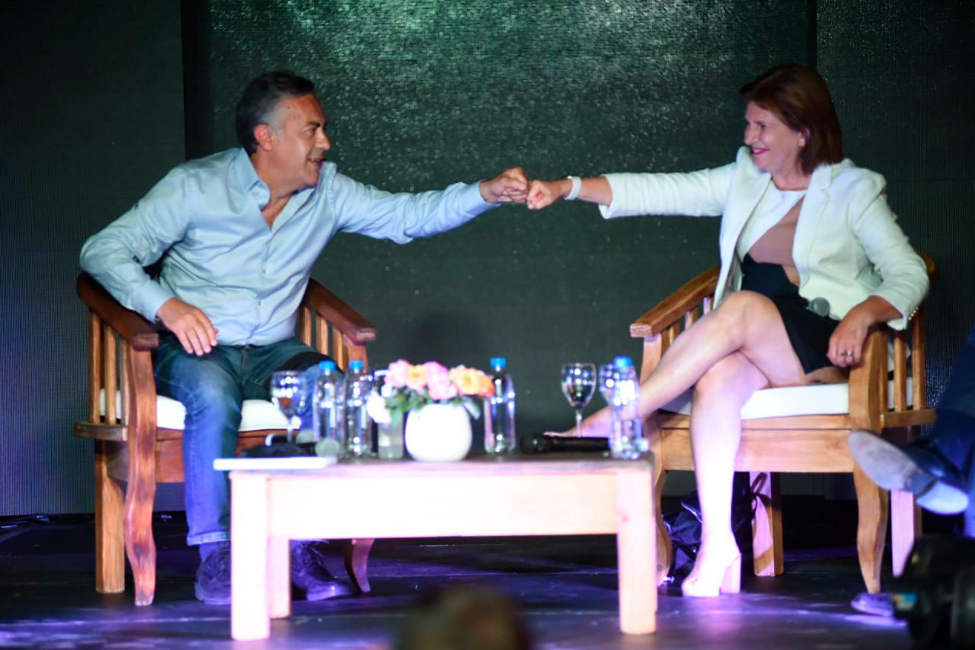 Patricia Bullrich y Alfredo Cornejo