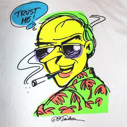 El Tío Duke, personaje del cómic Doonesbury, de Garry Trudeau, inspirado en HS.T.