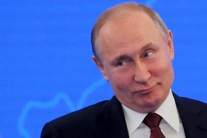 Vladimir Putin REUTERS/Maxim Shemetov