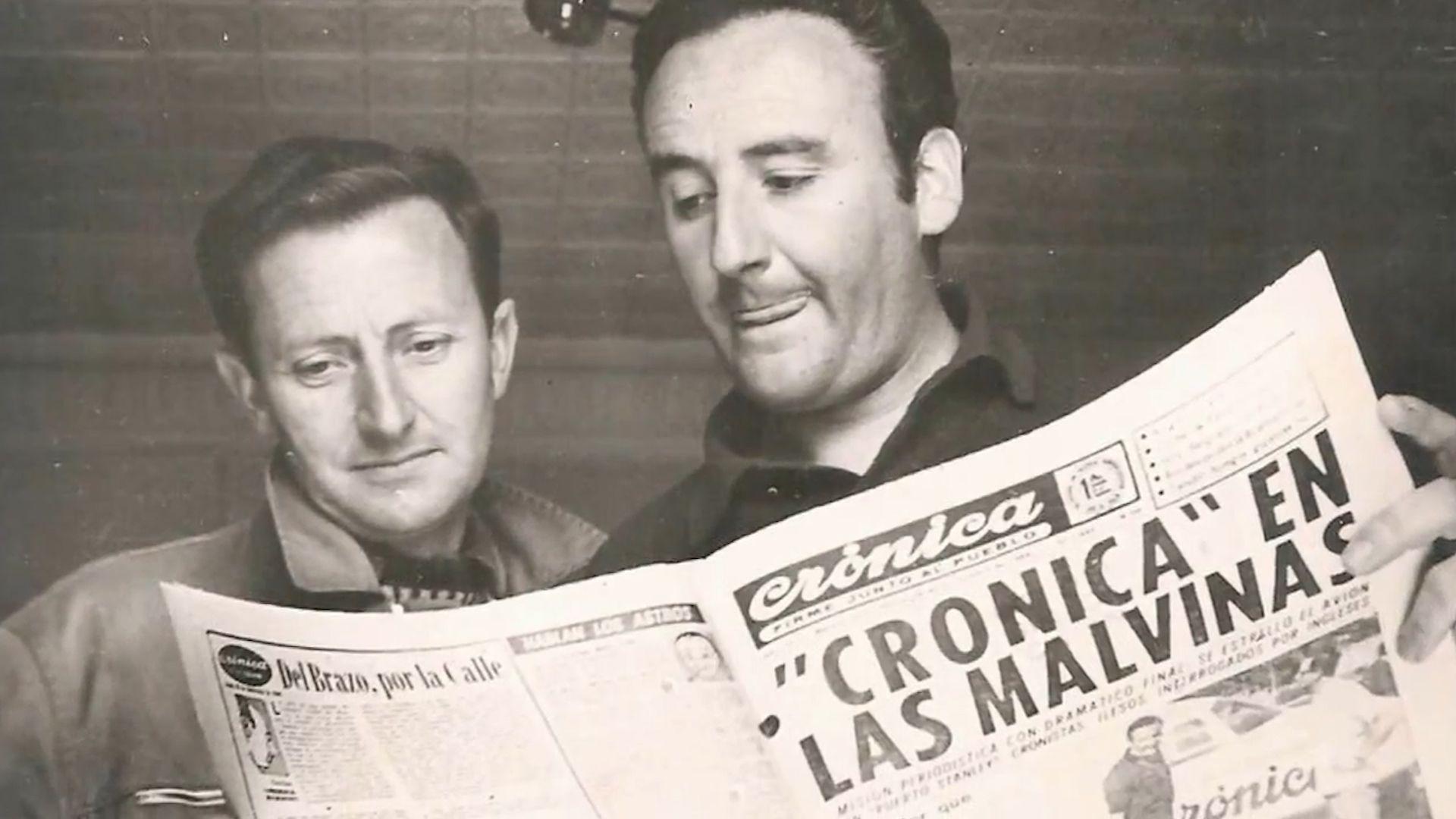 Héctor Ricardo García y gran creación: Diario Crónica