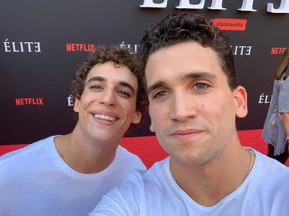 """Además de """"Élite"""", Miguel Herrán (Christian) y Jaime Lorente (Nano) ya habían compartido elenco en """"La Casa de Papel"""""""