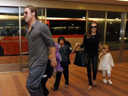 Angelina Jolie le pidió el divorcio a Brad Pitt el 20 de septiembre, tras 10 años juntos (Reuters)