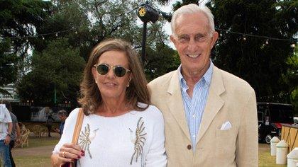 Neuss y su esposa y víctima.