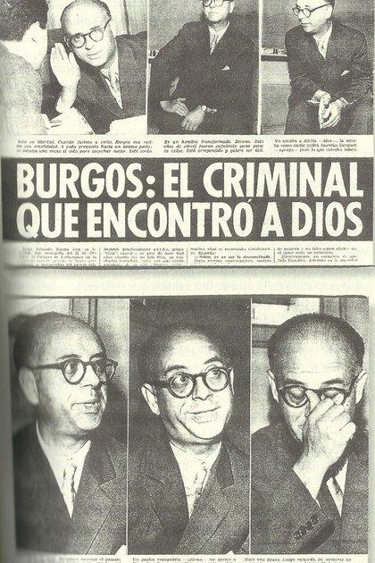"""Burgos, """"el descuartizador"""", un caso emblemático dentro del policial argentino"""
