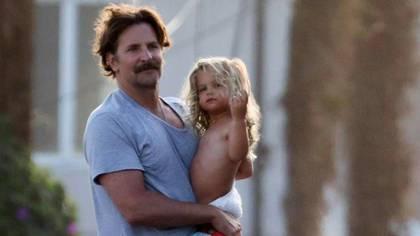 Bradley Cooper with his daughter (The Grosby Group)