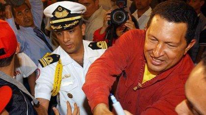 Andrade fue guardaespaldas de Hugo Chávez y posteriormente Tesorero de Venezuela