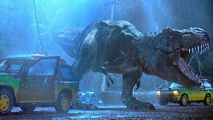 """El T-Rex de """"Jurassic Park"""""""
