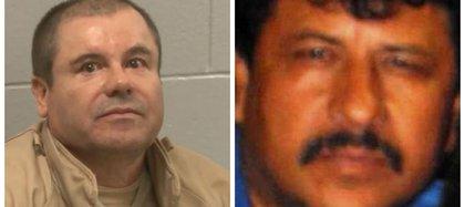"""El """"Chapo"""" Guzmán y el """"Macho"""" Prieto, quien fue abatido en 2013 (Foto: Especial)"""