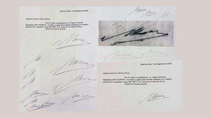 La Justicia determinó que Luque falsificó la firma de Maradona