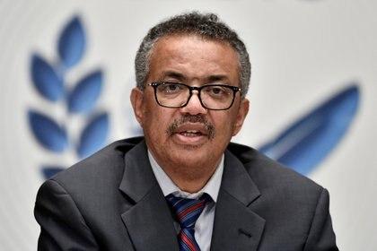Tedros Adhanom Ghebreyesus, Director General de la Organización Mundial de la Salud pide que se acelere la vacunación en el mundo - via REUTERS/File Photo