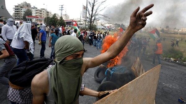Manifestaciones en Cisjordania (Reuters)
