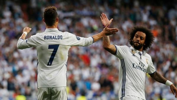 Cristiano Ronaldo mantiene una gran relación con Marcelo (Reuters)