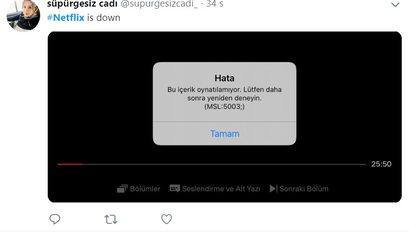 Los usuarios muestran captura de pantalla mostrando que el servicio no funciona.