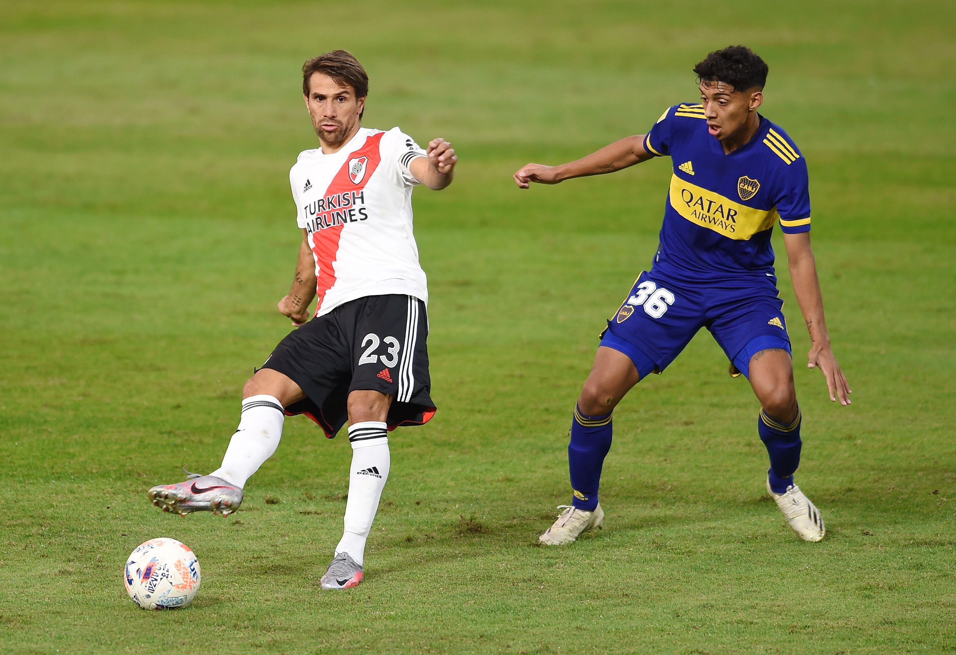 Leonardo Ponzio afirmó que este sería su último año como futbolista profesional (REUTERS/Marcelo Endelli)