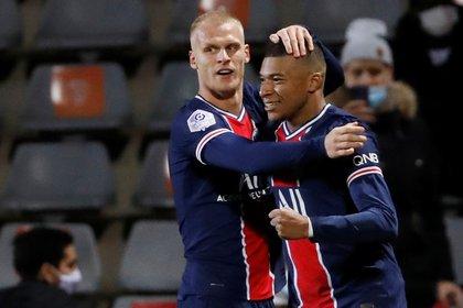 Kylian Mbappé, la otra carta ganadora del PSG (REUTERS/Eric Gaillard)