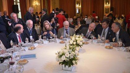 Representantes del sector empresario durante el último encuentro del Cicyp (Gustavo Gavotti)