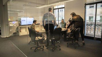 En las oficinas de Workia trabajan en la aplicación de tecnología a los Recursos Humanos (Lihue Althabe)