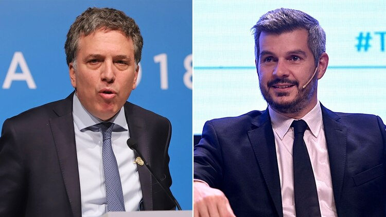 Nicolás Dujovne y Marcos Peña volvieron a cambiar el resultado esperado del saldo de gastos y recursos del último año