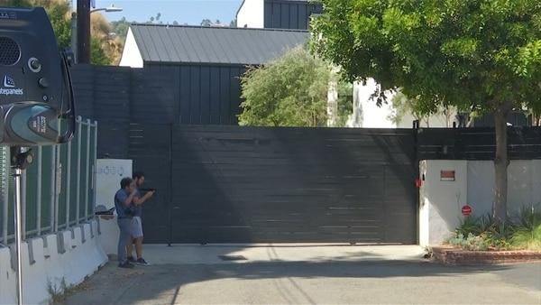 La casa de la cantante en Hollywood Hills