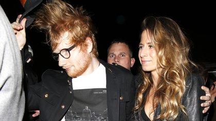Ed Sheeran y Cherry Seaborn anunciaron el nacimiento de su hija Lyra Antarctica (Shutterstock)