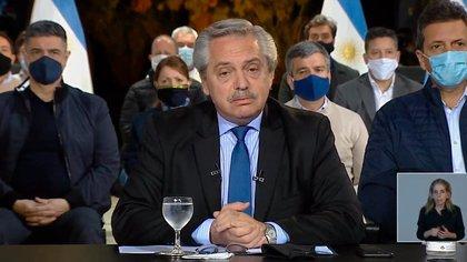 Alberto Fernández decidió sacarle un punto de coparticipación a la Ciudad de Buenos Aires