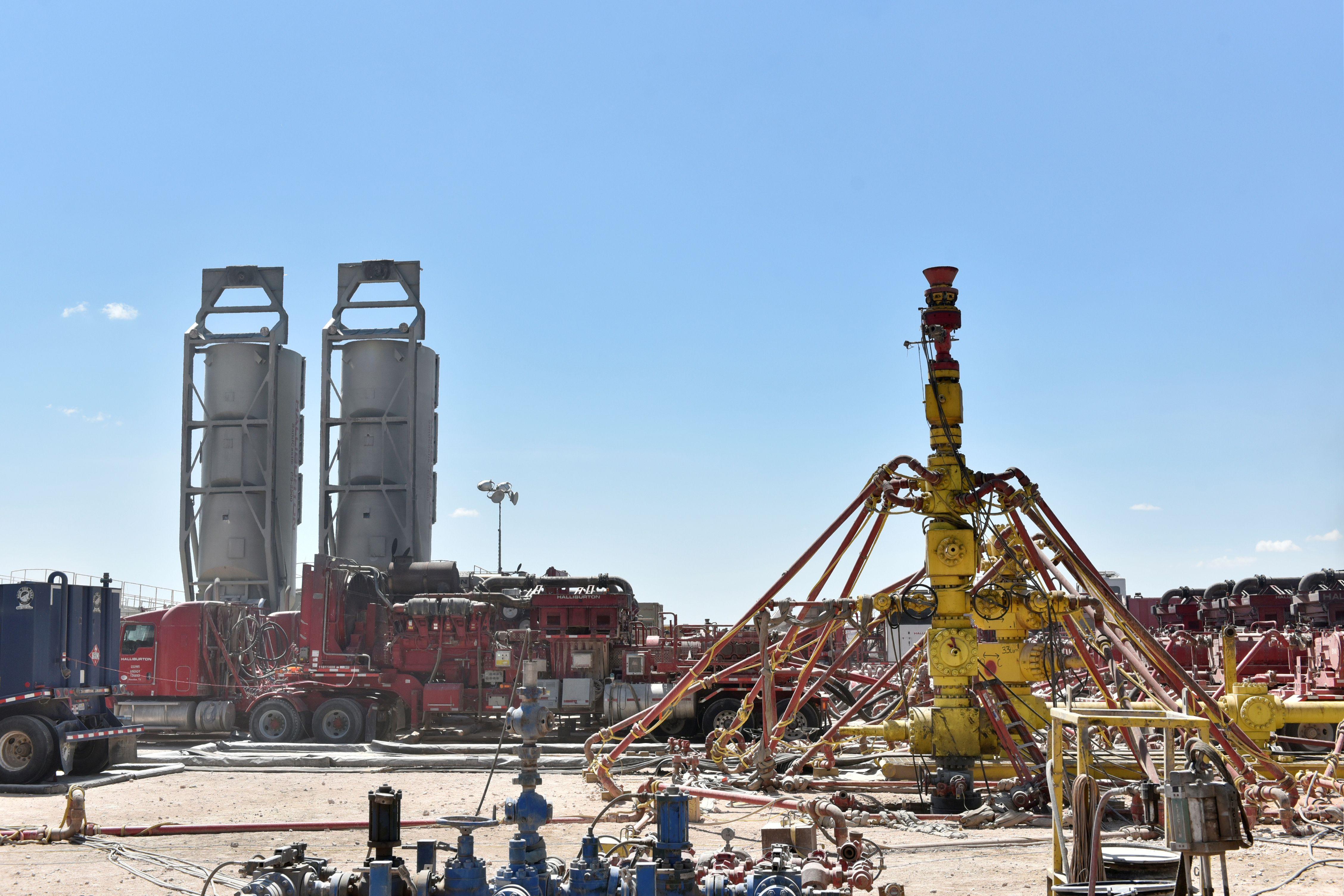 Foto de referencia de un poso de Fracking en Wink, Texas, Estados Unidos. / REUTERS - Nick Oxford