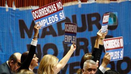 La primeras protestas contra el nuevo presidente de México. (Foto: AP)