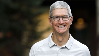 Tim Cook, CEO de Apple (Patrick T. Fallon/Bloomberg)