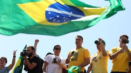 Campaña electoral en Brasil (Reuters)