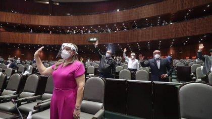Los legisladores se preparan para un posible segundo Periodo Extraordinario en el Congreso (Foto: Cuartoscuro)