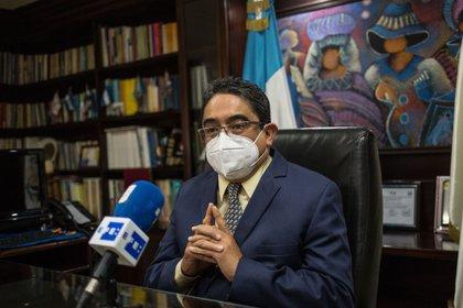 El procurador de los Derechos Humanos de Guatemala, Jordan Rodas. EFE/Esteban Biba/Archivo