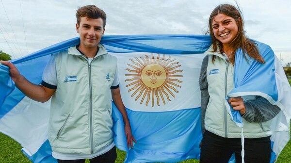 Cittadini y Romairone se impusieron en el Nacra 15 de Vela (Pablo Elías / Buenos Aires 2018)