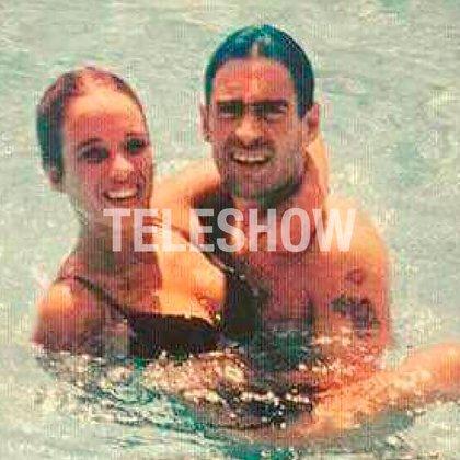Rodrigo y Alejandra, durante sus vacaciones en Cuba