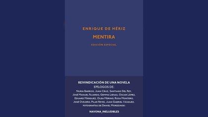 """""""Mentira"""" de Enrique de Hériz, reedición de Navona"""