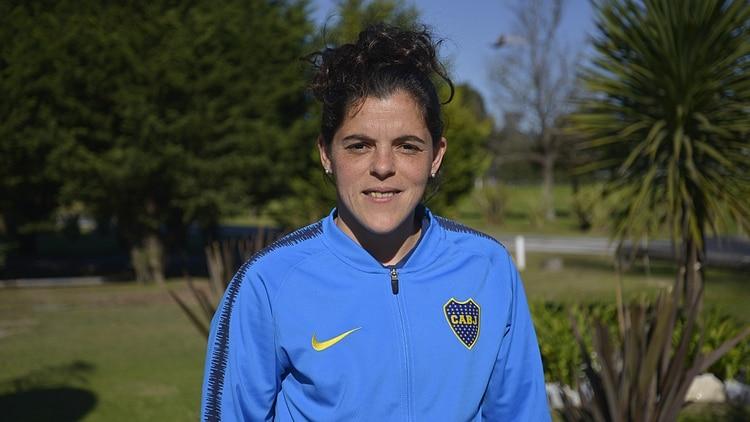 Florencia Quiñones, capitana de Boca Juniors (Gustavo Gavotti)
