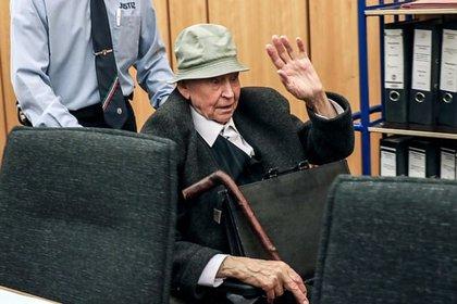 Johann Rehbogen en la corte de la ciudad alemana de Munster