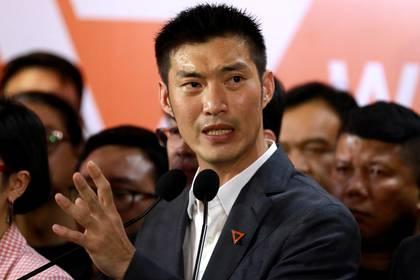 El líder del partido Future Foward, Thanathorn Juangroongruangkit