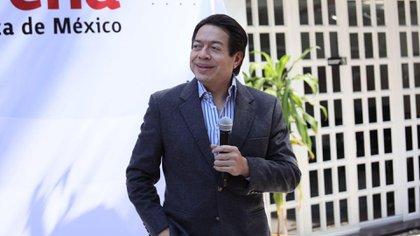 Delgado brindó algunos detalles sobre el proceso interno de Morena para definir a sus candidatos gobernantes para 2021 (Foto: cortesía de Morena)