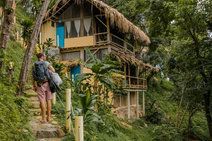 Ecohotel en Minca. Foto: Cortesía de Minca Ecohabs.