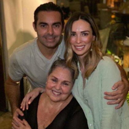 Charito, esposa de Ernesto, fue acusada de, supuestamente, haber contagiado de COVID a Lupita D'Alessio (IG: soylupitadalessio)