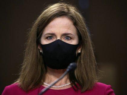 Amy Coney Barrett, nominada por Trump para la vacante dejada por Ruth Bader Ginsburg (Reuters)
