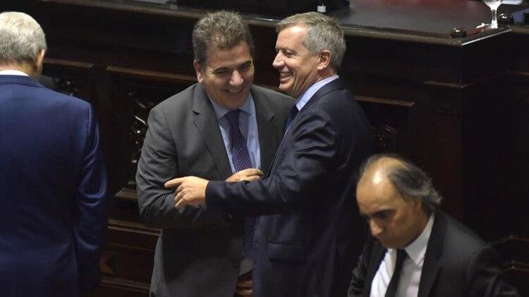 Cristian Ritondo y Emilio Monzó