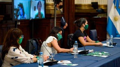 Representantes de la Campaña por el aborto hablaron con Massa y diputadas esta tarde