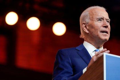 Joe Biden, el presidente electo e los EEUU