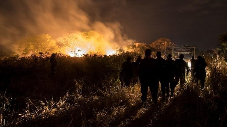 Los incendios ya arrasaron casi un millón de hectáreas de los bosques bolivianos