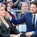 HOLLYWOOD, CALIFORNIA - NOVEMBER 16: Michael Buble and wife Luisana Lopilato attend his being honored with a Star on the Hollywood Walk of Fame on November 16, 2018 in Hollywood, California. David Livingston/Getty Images/AFP
