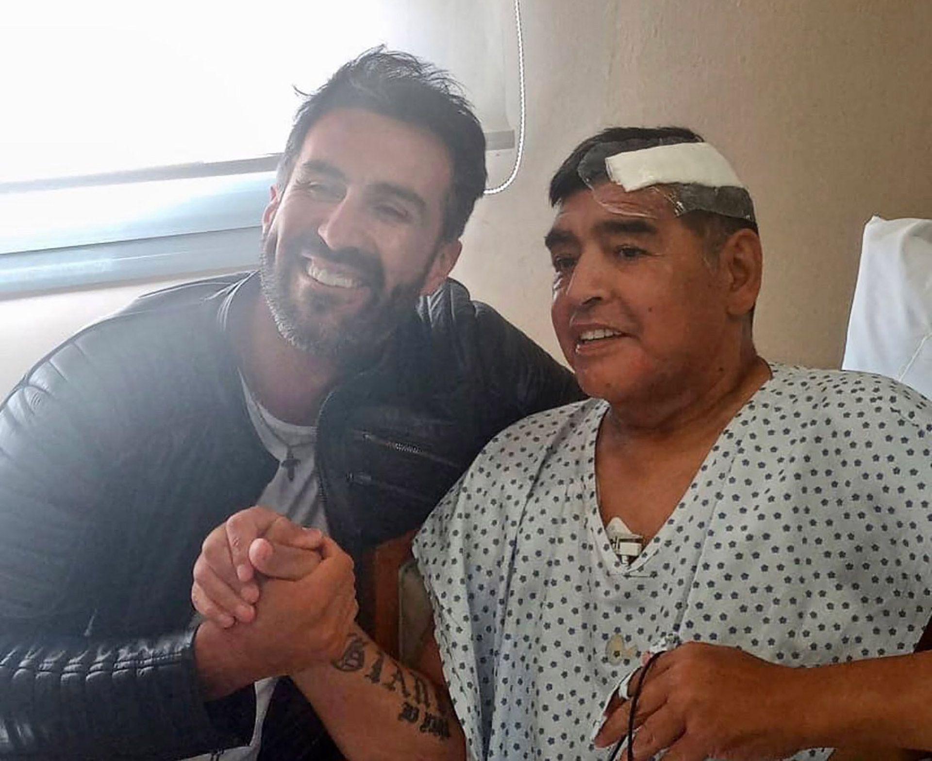 maradona después de la operación