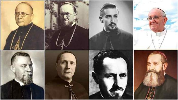 Los siete obispos que serán beatificados por Francisco
