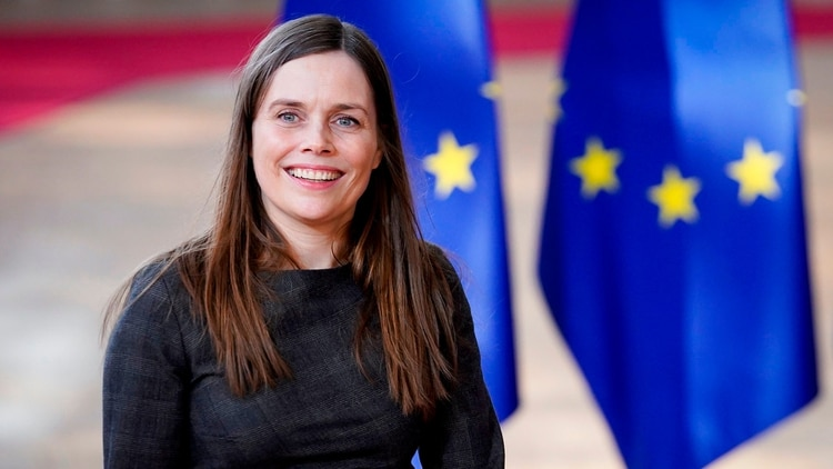 Mandatory Credit: Photo by Isopix/Shutterstock (10163780am) Katrin Jakobsdottir EU Summit, Bruselas, Bélgica , 22 de marzo de 2019